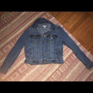 Super cute jean jacket